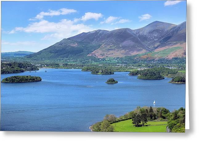 Derwentwater - Lake District Greeting Card