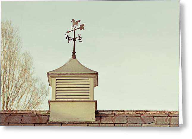 Vermont Direction   Greeting Card by JAMART Photography