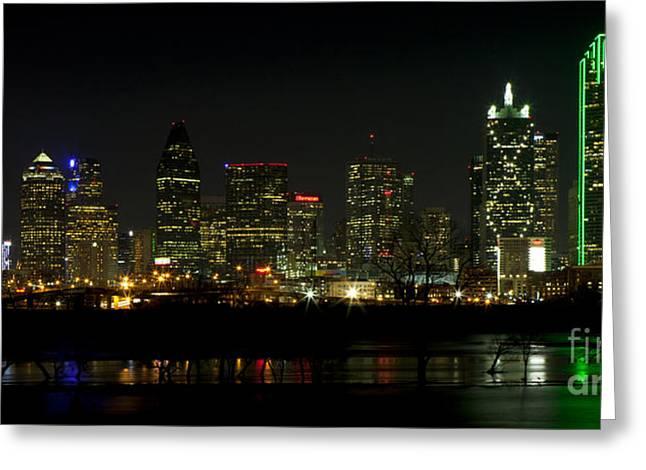 Downtown Dallas, Texas Greeting Card