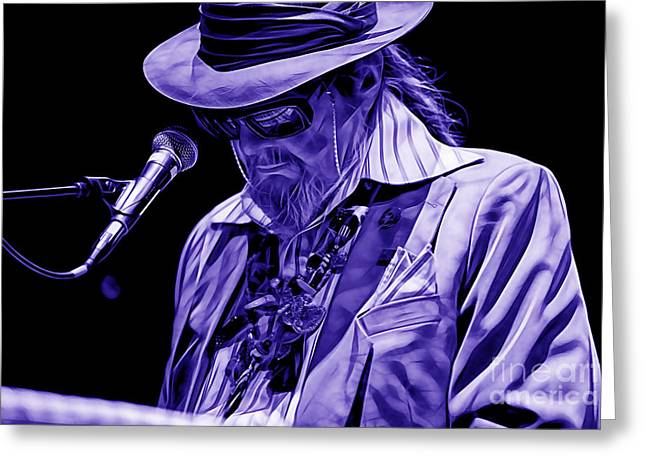 Dr. John Collection Greeting Card