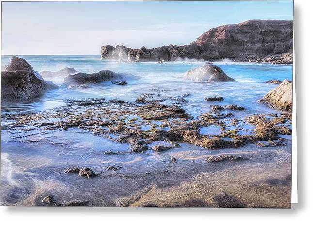 El Golfo - Lanzarote Greeting Card