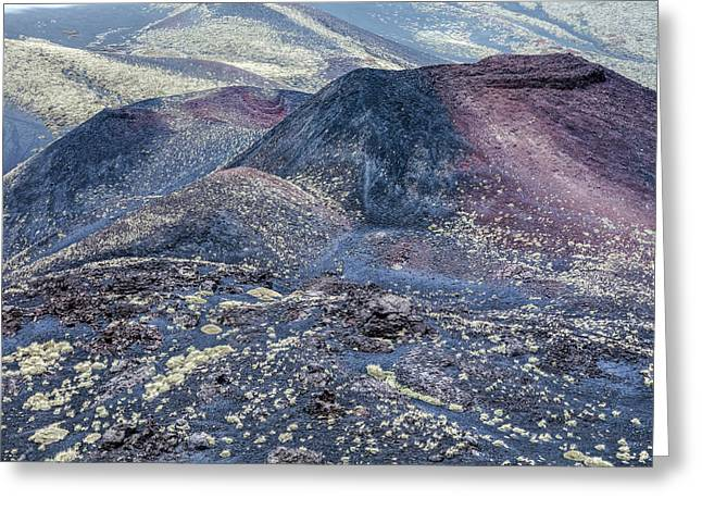 Etna - Sicily Greeting Card