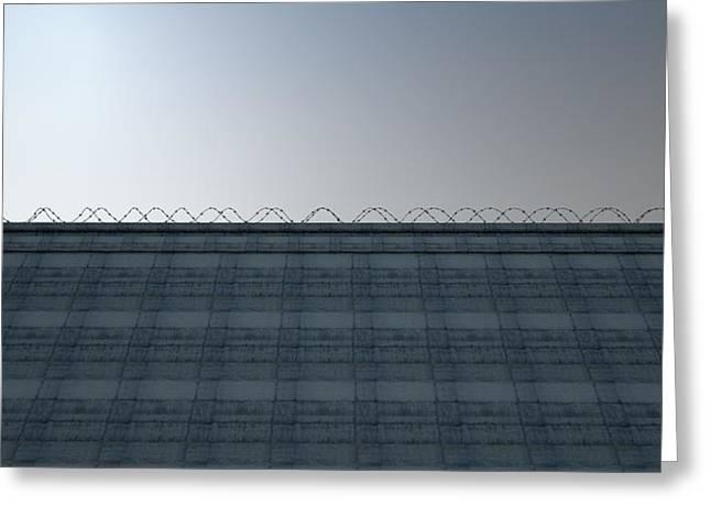 Huge High Security Wall Greeting Card
