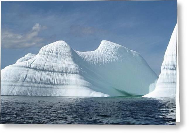 Iceberg Greeting Card by Seon-Jeong Kim