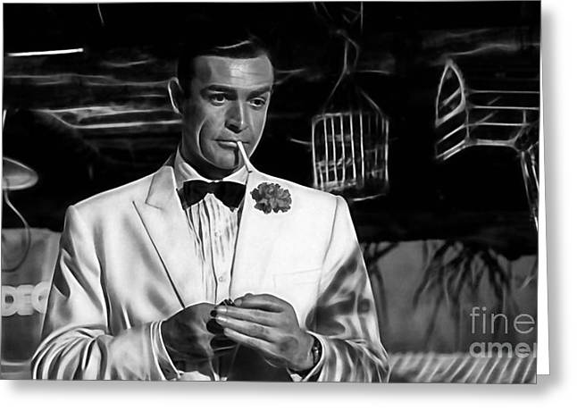 James Bond Collection Greeting Card