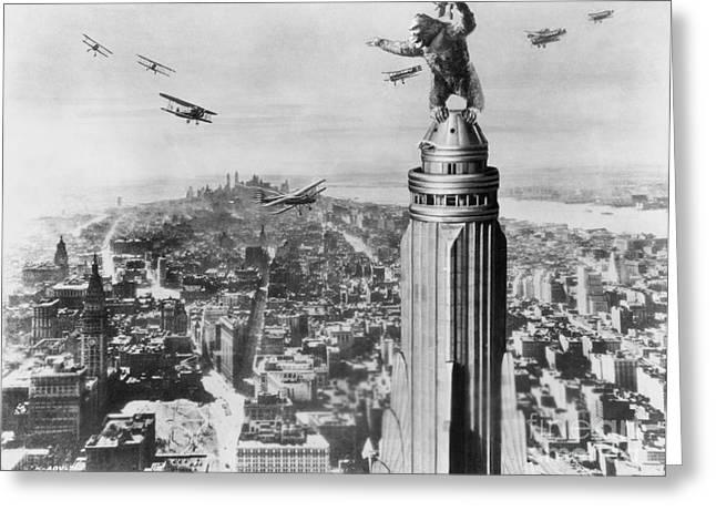 King Kong Greeting Cards - King Kong, 1933 Greeting Card by Granger
