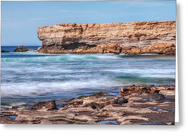 La Pared - Fuerteventura Greeting Card by Joana Kruse