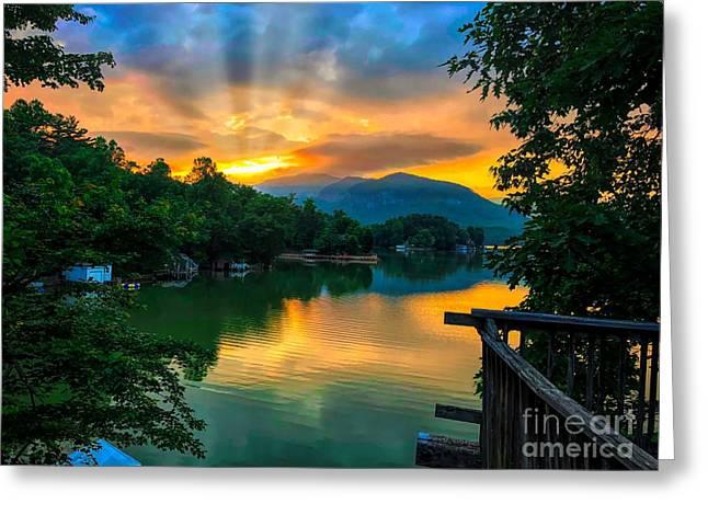 Lake Lure Greeting Card