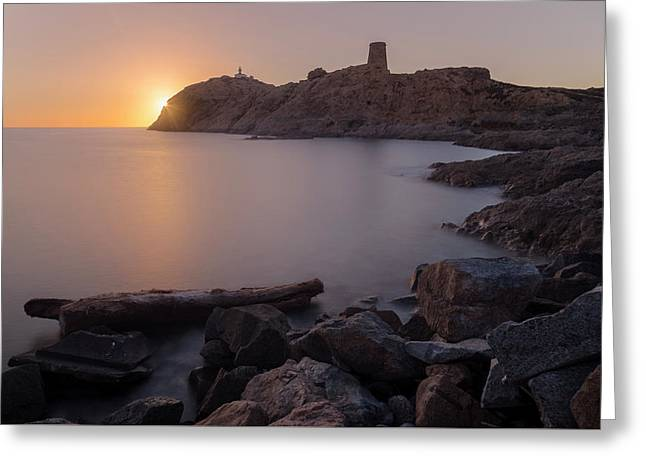 L'ile Rousse - Corsica Greeting Card