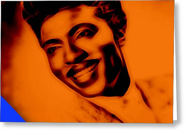 Little Richard Collection Greeting Card by Marvin Blaine