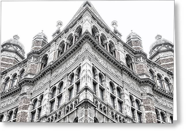 London Building Greeting Card by Tom Gowanlock