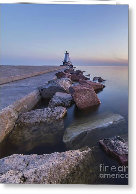 Ludington Lighthouse Greeting Card