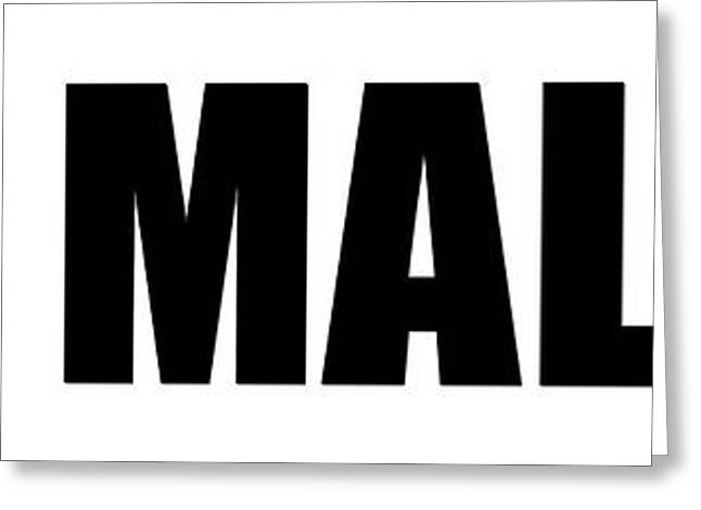 Malibu California Greeting Card