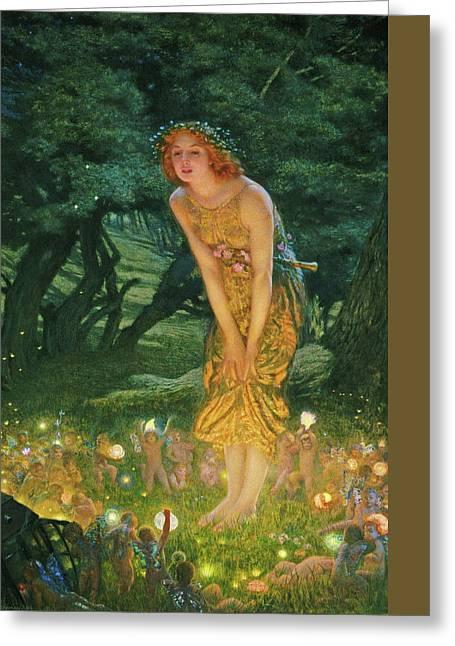 Midsummer Eve Greeting Card