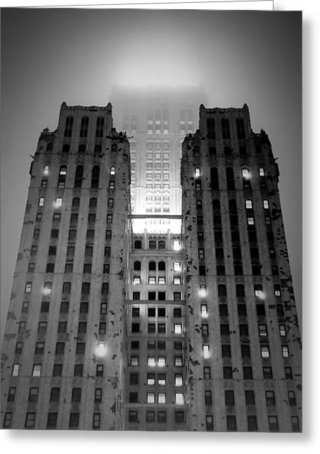 Nyc Buildings Greeting Card by Patrick  Flynn