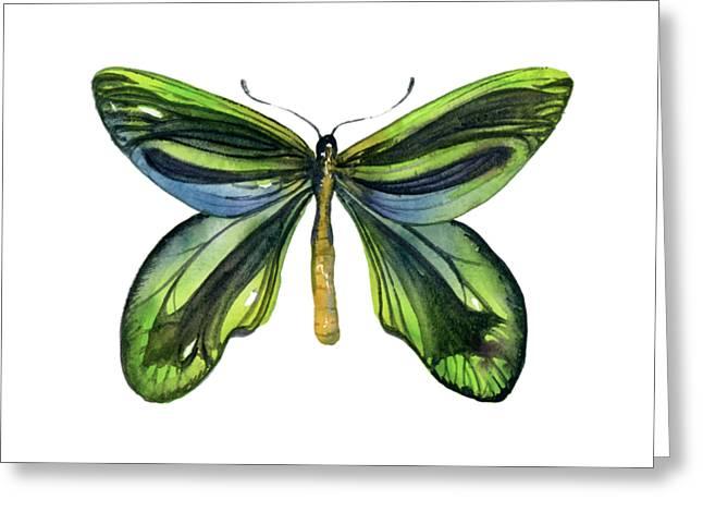 6 Queen Alexandra Butterfly Greeting Card