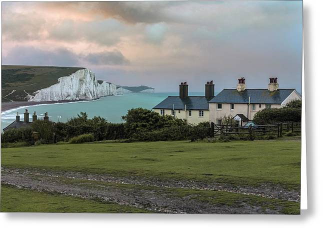 Seven Sisters - England Greeting Card