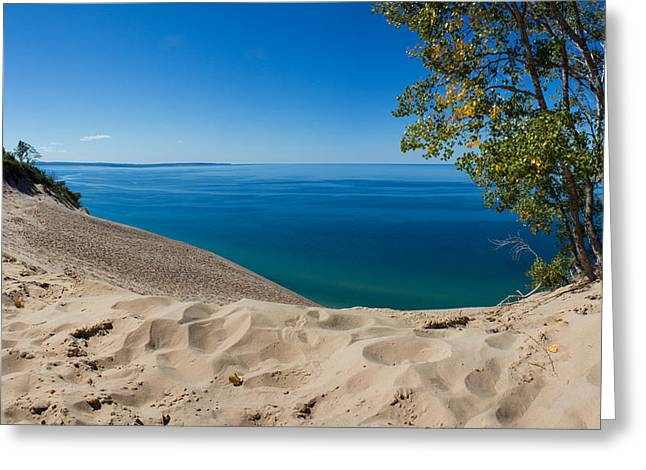 Lake Michigan Greeting Cards - Sleeping Bear Dunes Greeting Card by Twenty Two North Photography