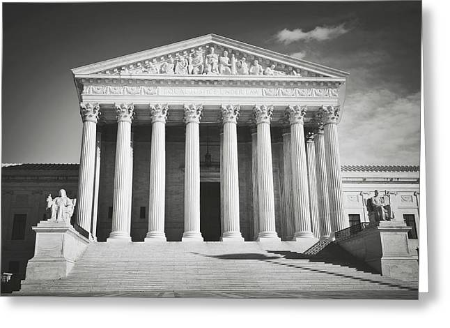Supreme Court Building Greeting Card