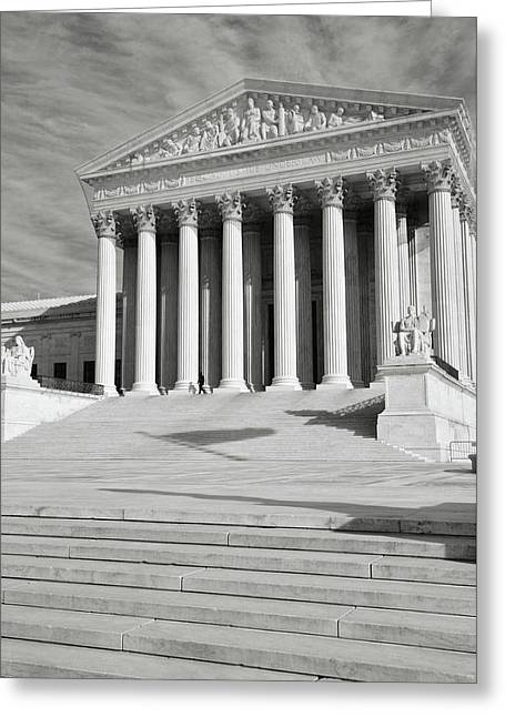 Supreme Court Of The Usa Greeting Card
