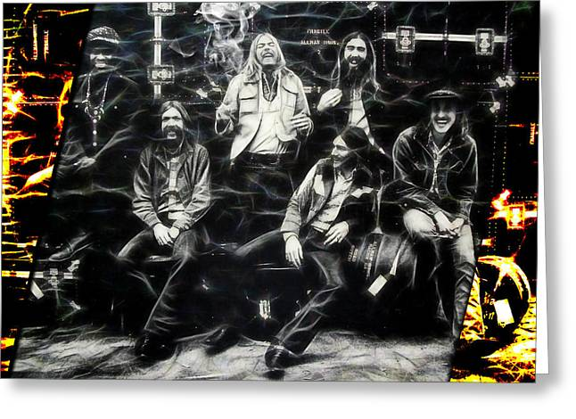 The Allman Brothers Collection Greeting Card