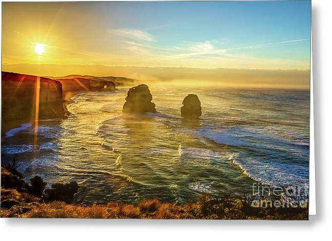 Twelve Apostles Victoria Greeting Card