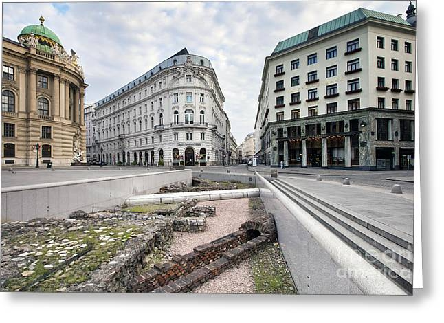 Vienna Greeting Card by Andre Goncalves