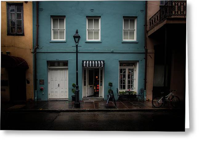 608 Bienville Street Greeting Card