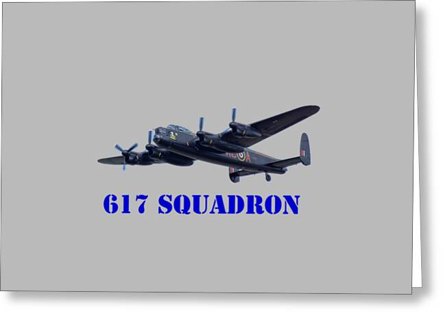 617 Squadron Greeting Card by Scott Carruthers