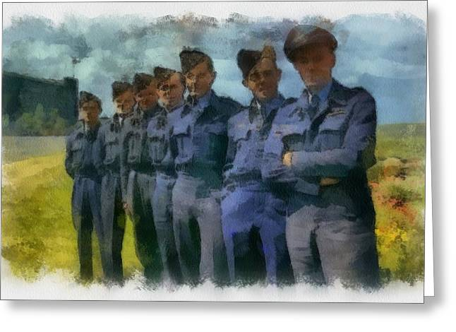617 Squadron The Dambusters Greeting Card by Esoterica Art Agency
