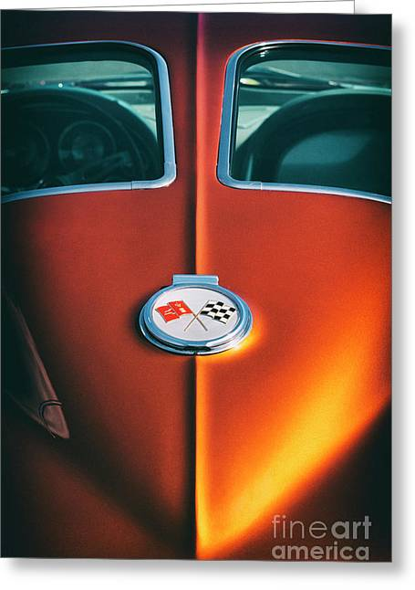 63 Stingray Greeting Card