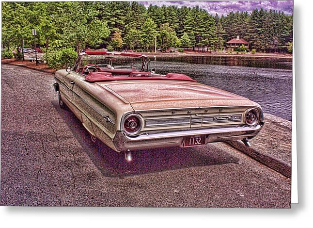 64 Ford Greeting Card by Paul Godin