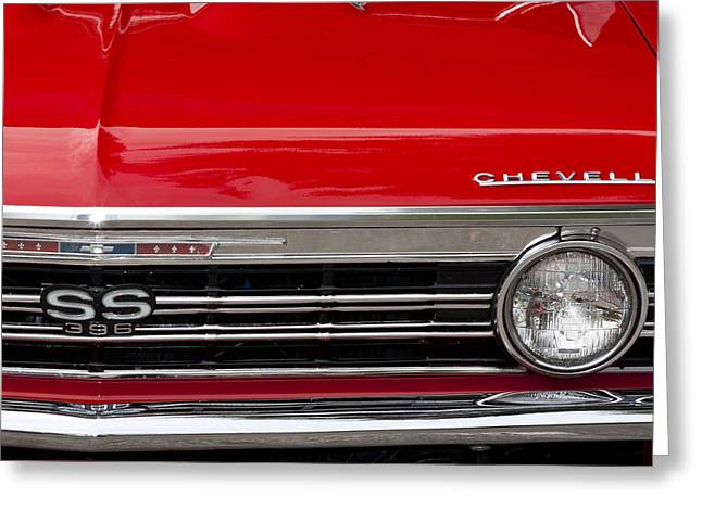 65 Chevelle Greeting Card