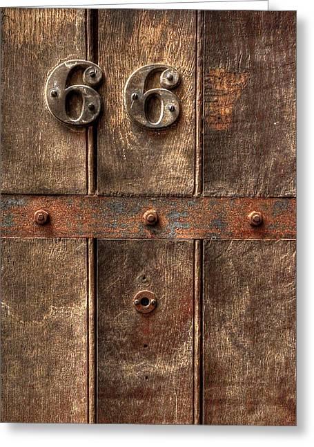 66... Greeting Card by Evelina Kremsdorf