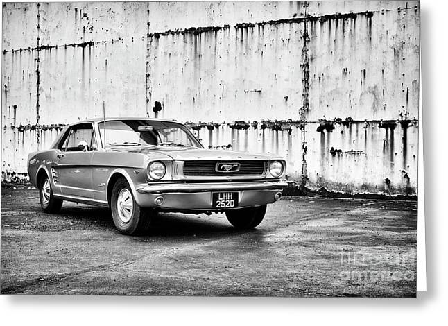 66 Mustang Greeting Card