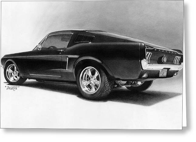 '68 Fast Back Greeting Card