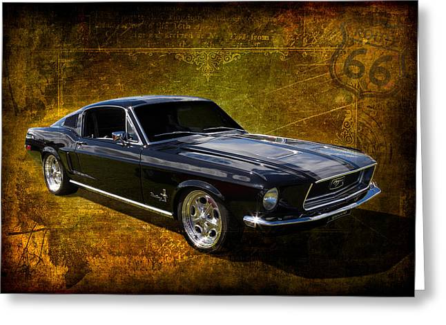 68 Fastback Greeting Card