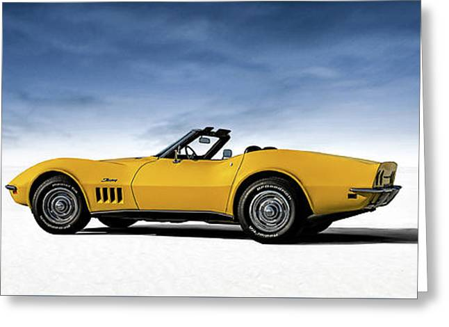 '69 Corvette Sting Ray Greeting Card