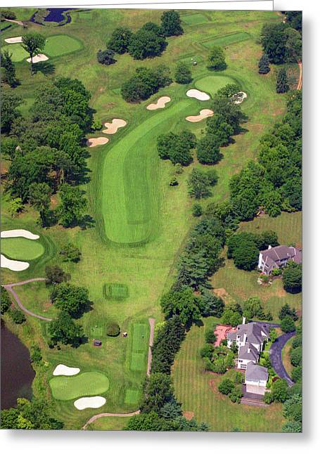6th Hole Sunnybrook Golf Club 398 Stenton Avenue Plymouth Meeting Pa 19462 1243 Greeting Card by Duncan Pearson
