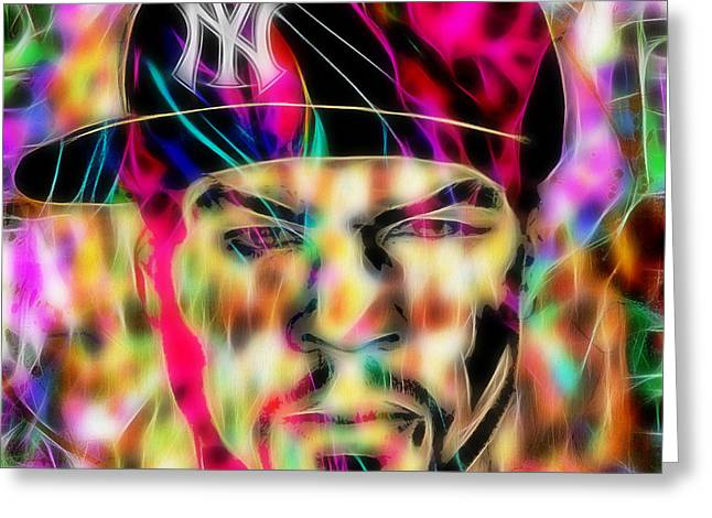 50 Cent Collection Greeting Card by Marvin Blaine