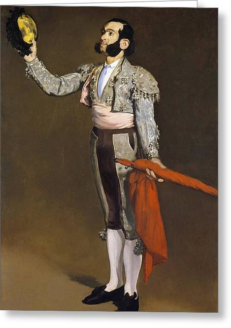 A Matador Greeting Card by Edouard Manet