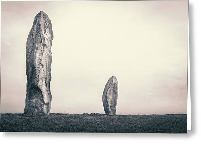 Avebury - England Greeting Card by Joana Kruse