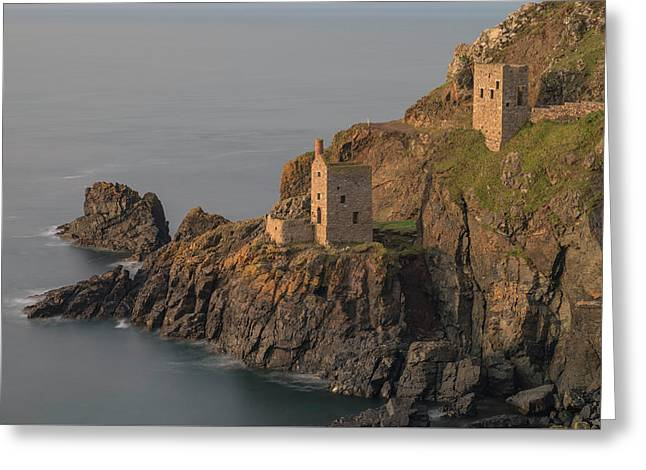 Botallack Mines - Cornwall Greeting Card