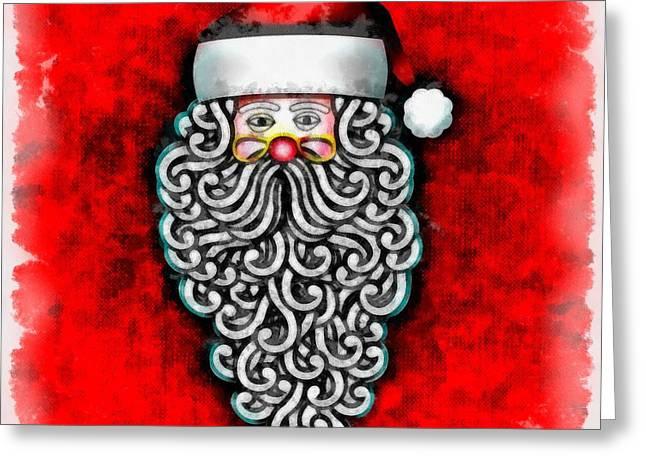 Christmas Santa Claus Greeting Card