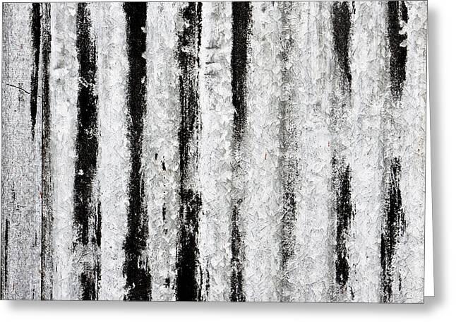Corrugated Metal Greeting Card by Tom Gowanlock