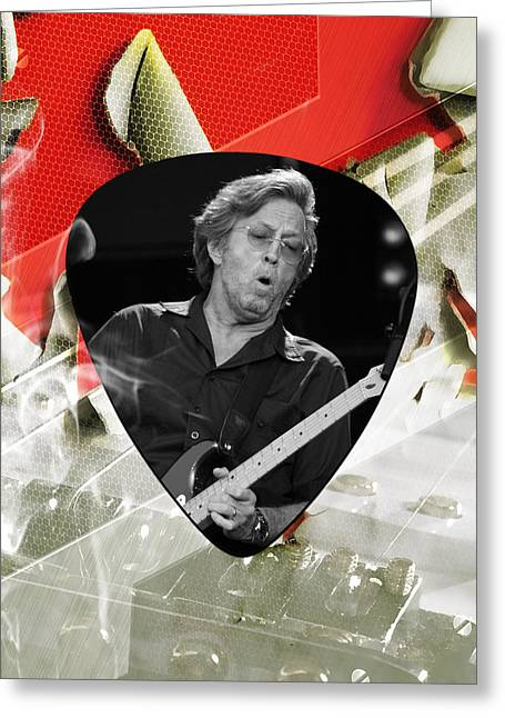 Eric Clapton Art Greeting Card by Marvin Blaine