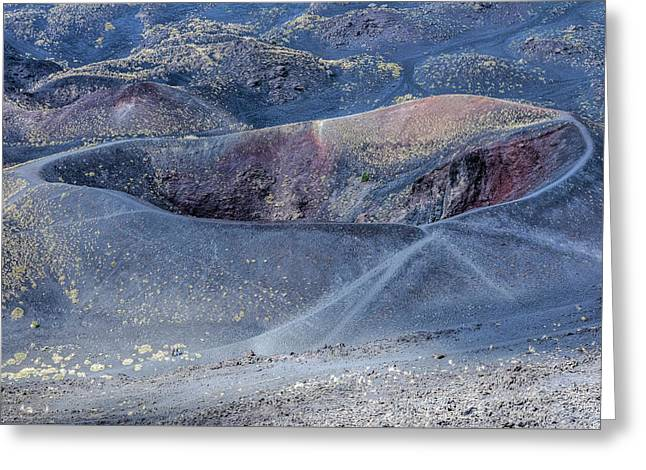 Etna - Sicily Greeting Card by Joana Kruse