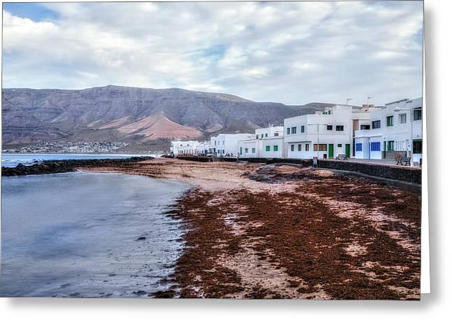 Famara - Lanzarote Greeting Card by Joana Kruse