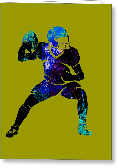 Football Collection Greeting Card by Marvin Blaine