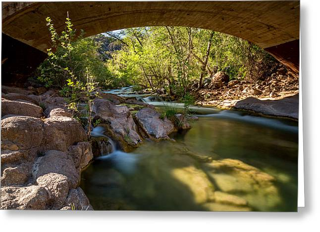 Fossil Creek Springs Greeting Card